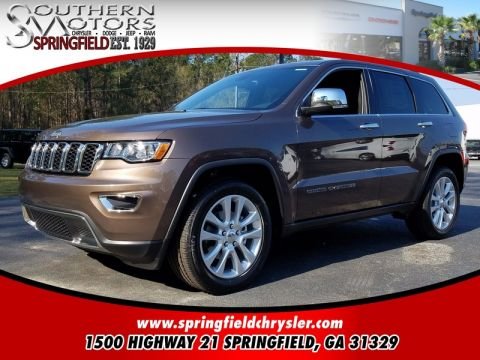 NEW 2017 JEEP GRAND CHEROKEE LIMITED 4X2