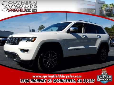 CERTIFIED PRE-OWNED 2017 JEEP GRAND CHEROKEE LIMITED RWD 4D SPORT UTILITY