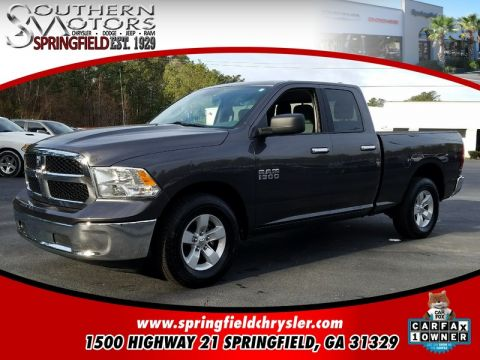 CERTIFIED PRE-OWNED 2017 RAM 1500 SLT RWD 4D QUAD CAB