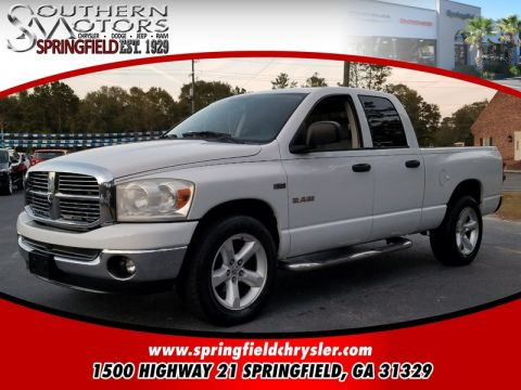 PRE-OWNED 2008 DODGE RAM 1500  RWD 4D QUAD CAB