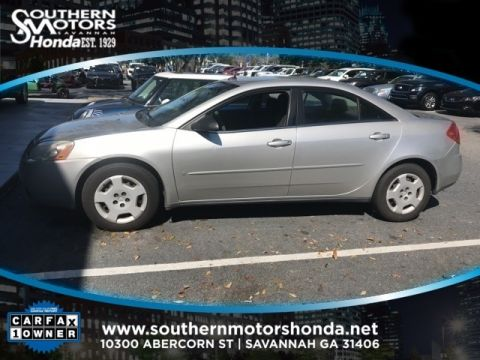 PRE-OWNED 2008 PONTIAC G6 VALUE LEADER FWD 4D SEDAN