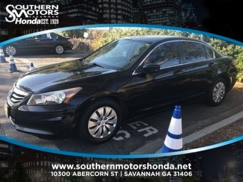 PRE-OWNED 2012 HONDA ACCORD LX FWD 4D SEDAN