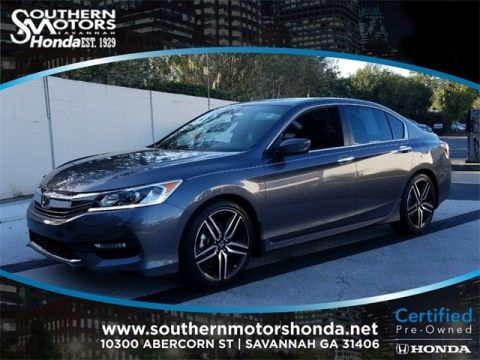 PRE-OWNED 2017 HONDA ACCORD SPORT SPECIAL EDITION FWD 4D SEDAN