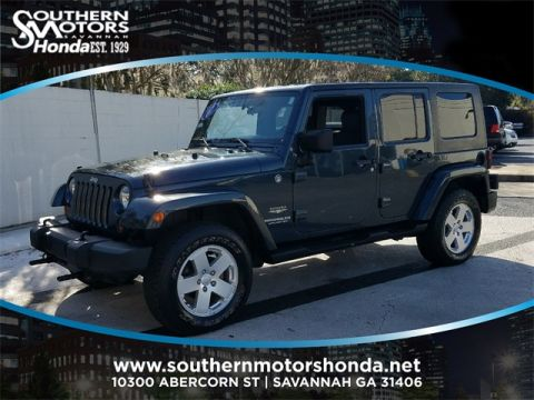 PRE-OWNED 2007 JEEP WRANGLER UNLIMITED SAHARA 4WD
