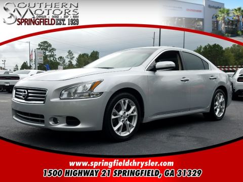 PRE-OWNED 2013 NISSAN MAXIMA  FWD 4D SEDAN