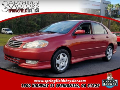 PRE-OWNED 2003 TOYOTA COROLLA  FWD 4D SEDAN
