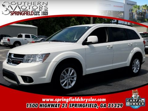 CERTIFIED PRE-OWNED 2016 DODGE JOURNEY SXT FWD 4D SPORT UTILITY
