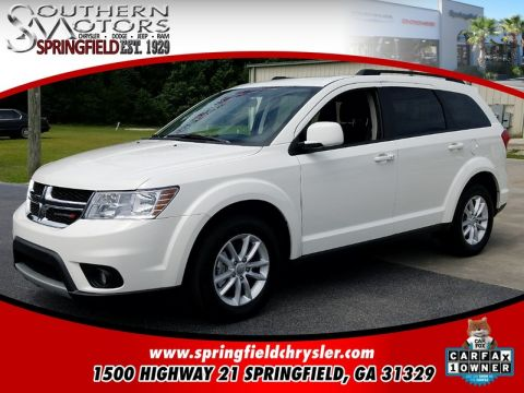 CERTIFIED PRE-OWNED 2017 DODGE JOURNEY SXT FWD 4D SPORT UTILITY