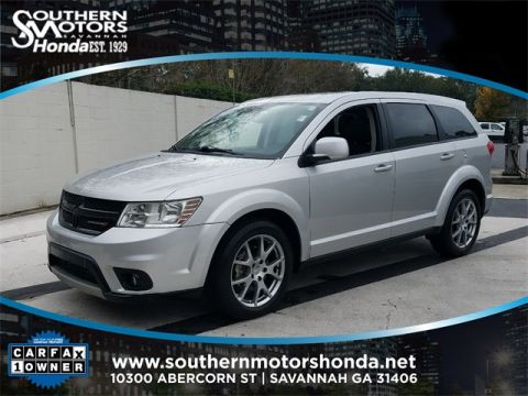 PRE-OWNED 2012 DODGE JOURNEY R/T FWD 4D SPORT UTILITY