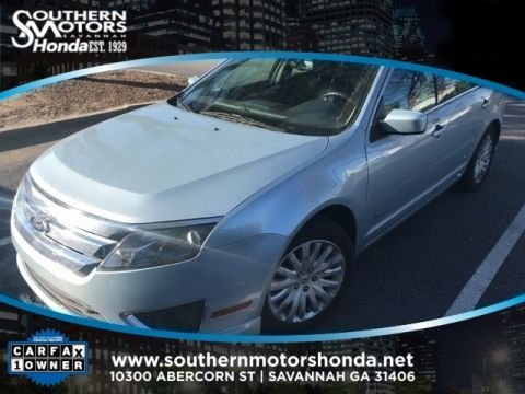 PRE-OWNED 2011 FORD FUSION HYBRID BASE FWD 4D SEDAN