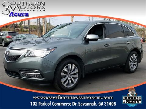 PRE-OWNED 2014 ACURA MDX 3.5L TECHNOLOGY PACKAGE FWD 4D SPORT UTILITY