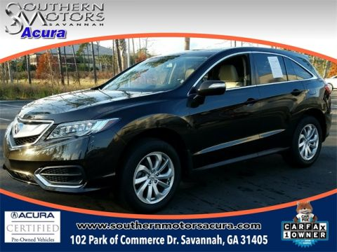 PRE-OWNED 2017 ACURA RDX ACURAWATCH PLUS PACKAGE FWD 4D SPORT UTILITY