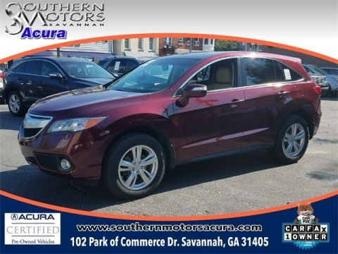 PRE-OWNED 2014 ACURA RDX TECHNOLOGY PACKAGE FWD 4D SPORT UTILITY