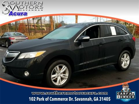 PRE-OWNED 2015 ACURA RDX TECHNOLOGY PACKAGE FWD 4D SPORT UTILITY