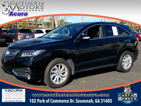 PRE-OWNED 2017 ACURA RDX TECHNOLOGY PACKAGE FWD 4D SPORT UTILITY