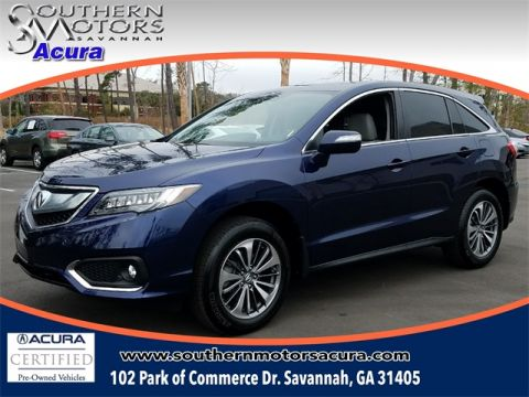 PRE-OWNED 2017 ACURA RDX ADVANCE PACKAGE FWD 4D SPORT UTILITY