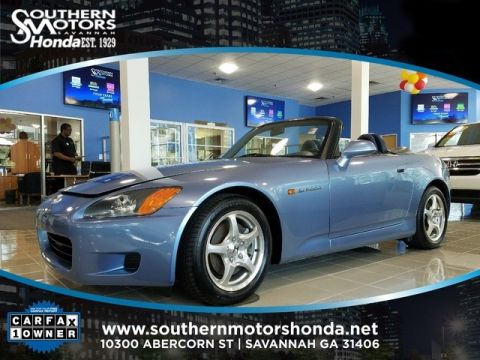 PRE-OWNED 2002 HONDA S2000 BASE RWD 2D CONVERTIBLE
