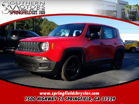 NEW 2017 JEEP RENEGADE SPORT 4X2