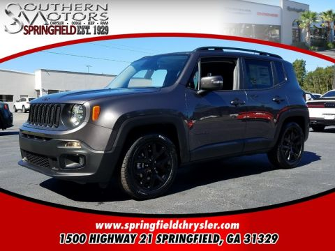 NEW 2017 JEEP RENEGADE ALTITUDE 4X2