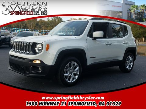 NEW 2017 JEEP RENEGADE LATITUDE 4X2