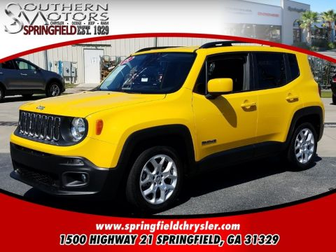 CERTIFIED PRE-OWNED 2015 JEEP RENEGADE LATITUDE FWD 4D SPORT UTILITY