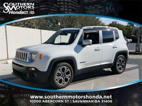 PRE-OWNED 2017 JEEP RENEGADE LIMITED FWD 4D SPORT UTILITY