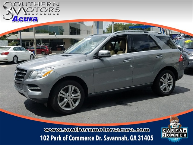 Pre-Owned 2015 Mercedes-Benz M-Class ML350